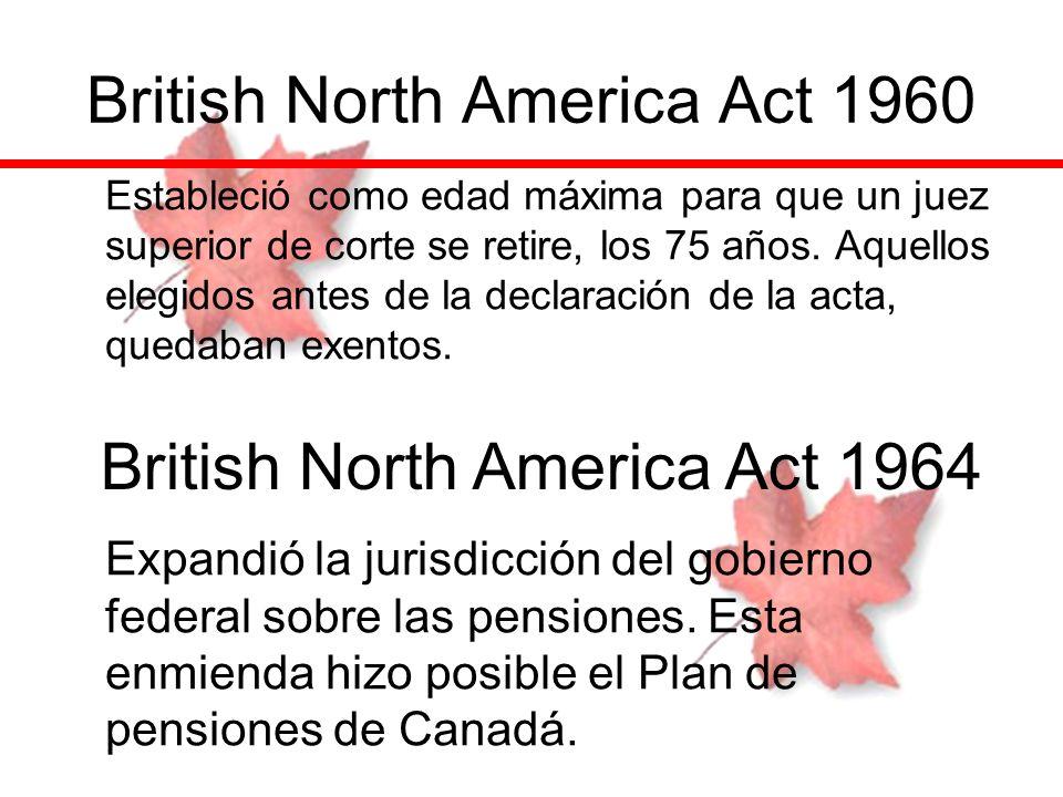 British North America Act 1960