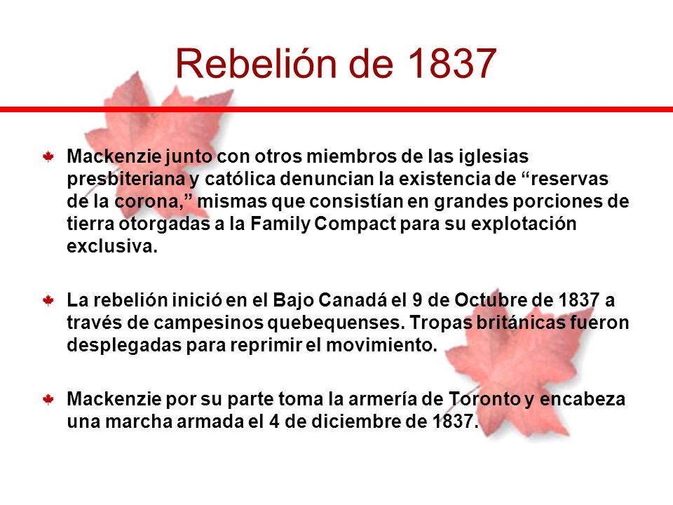 Rebelión de 1837
