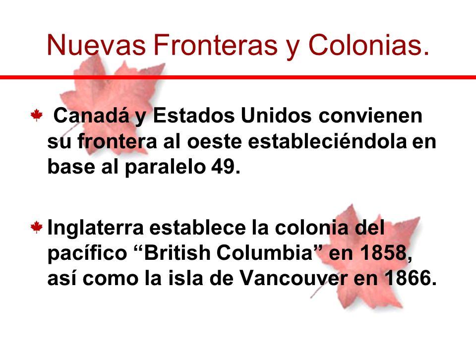 Nuevas Fronteras y Colonias.