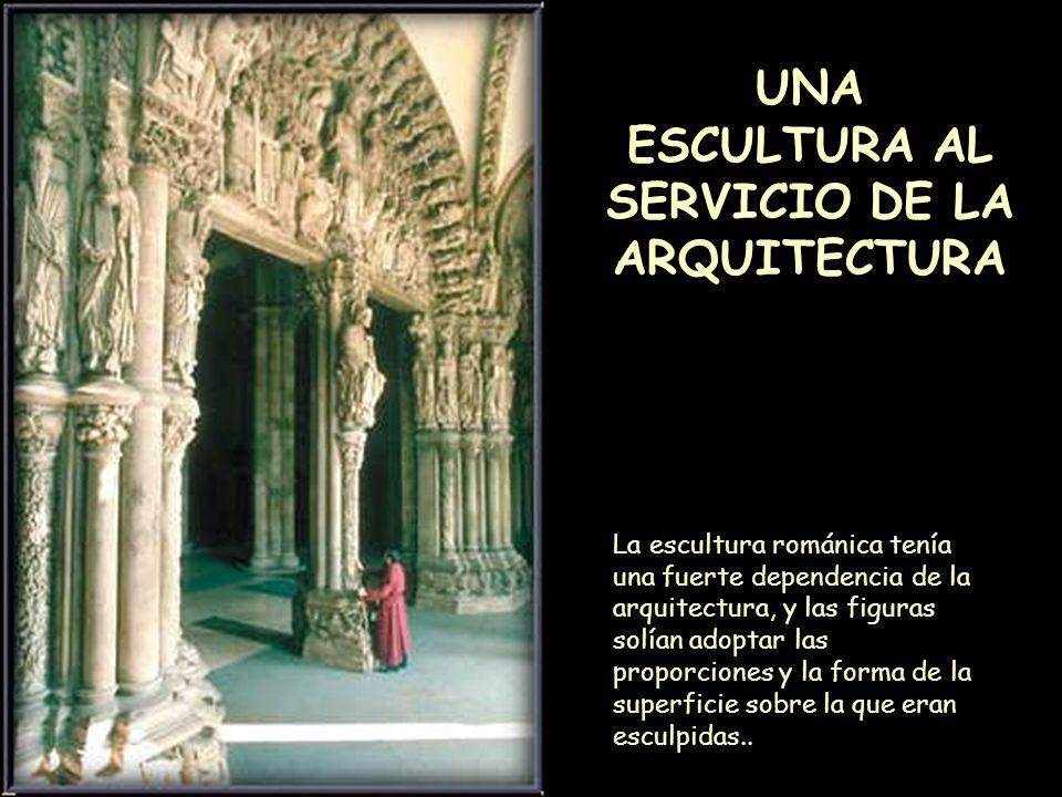 UNA ESCULTURA AL SERVICIO DE LA ARQUITECTURA