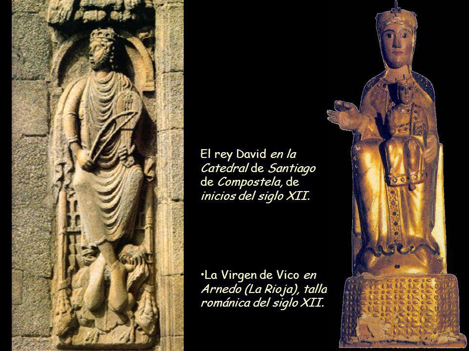La Virgen de Vico en Arnedo (La Rioja), talla románica del siglo XII.