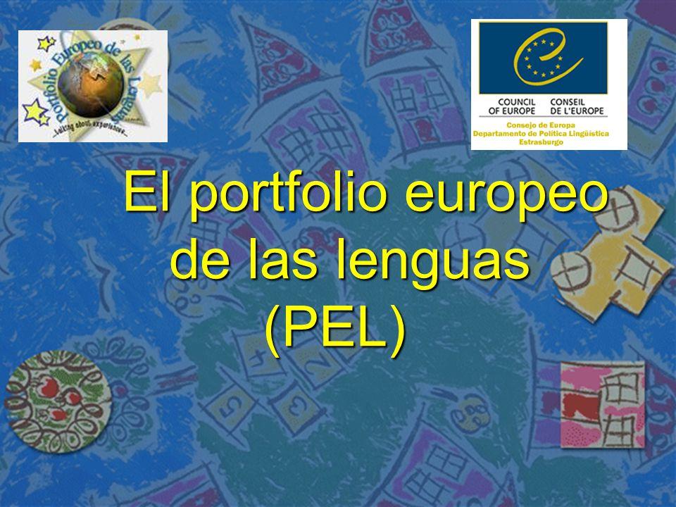 El portfolio europeo de las lenguas (PEL)