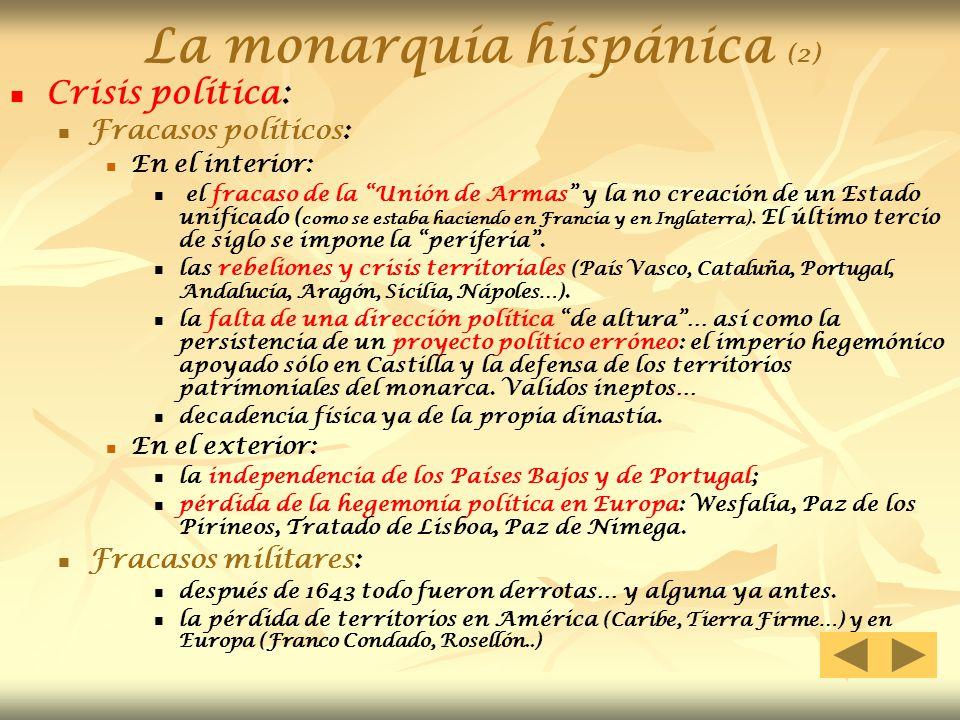 La monarquía hispánica (2)