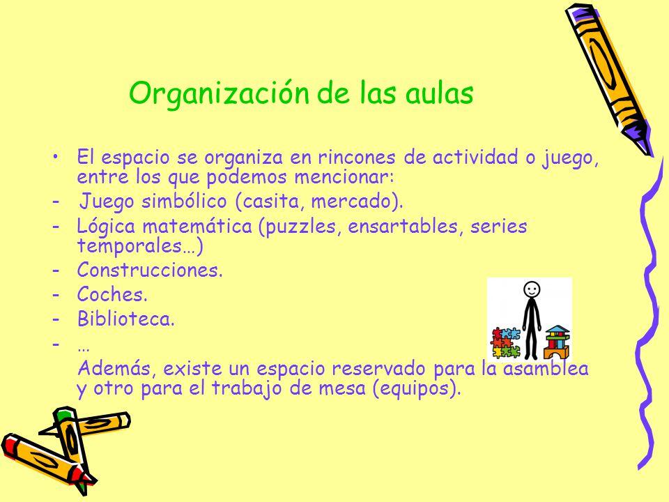 Organización de las aulas