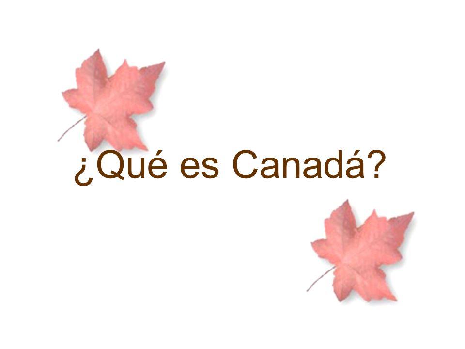 ¿Qué es Canadá