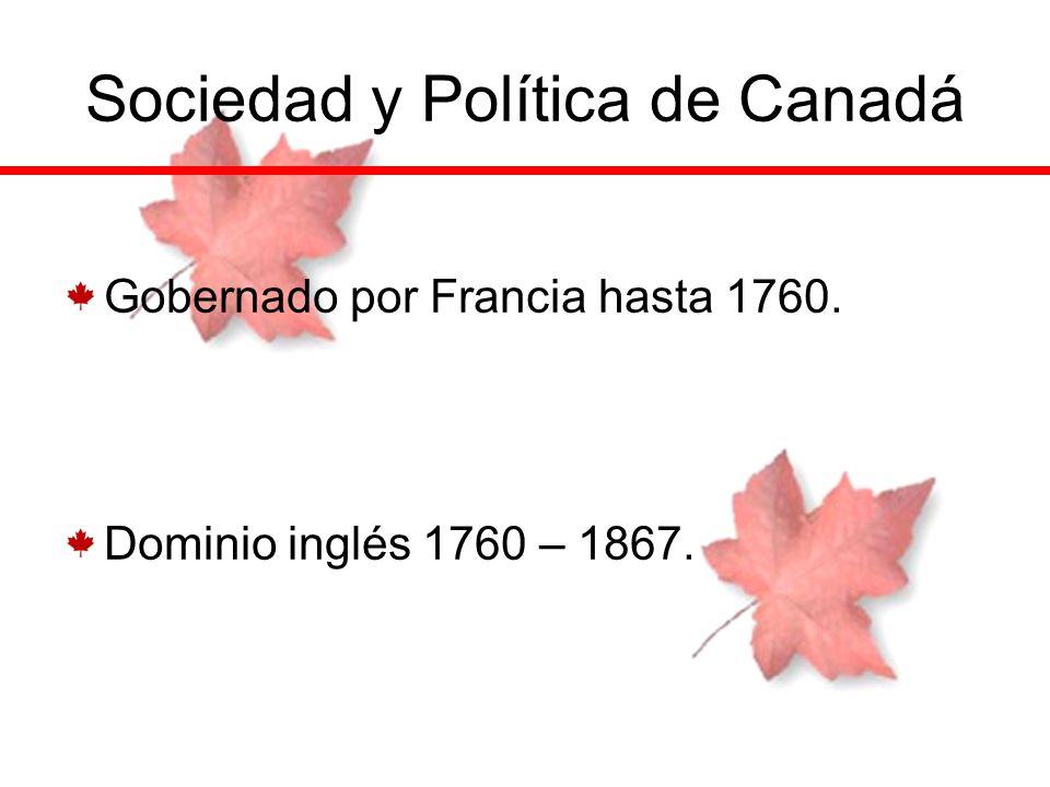 Sociedad y Política de Canadá