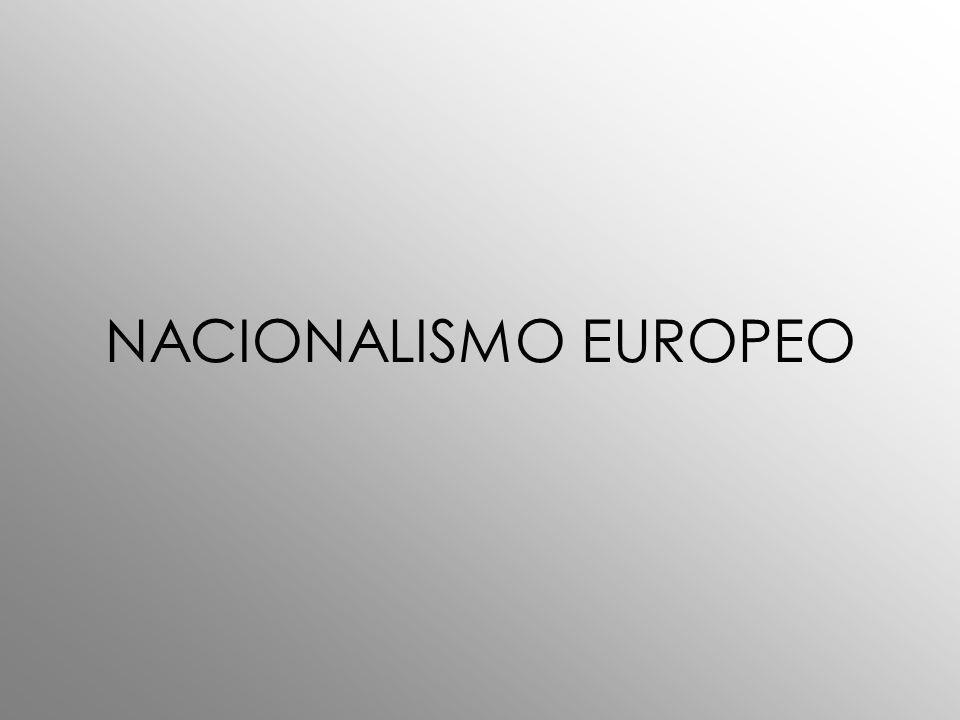 NACIONALISMO EUROPEO
