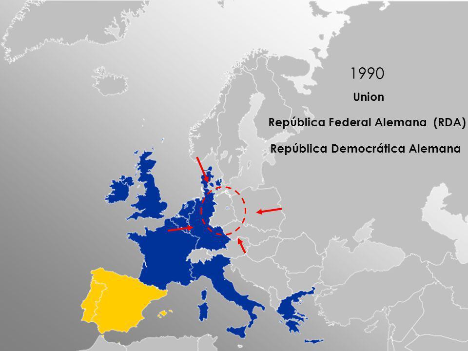 1990 Union República Federal Alemana (RDA)