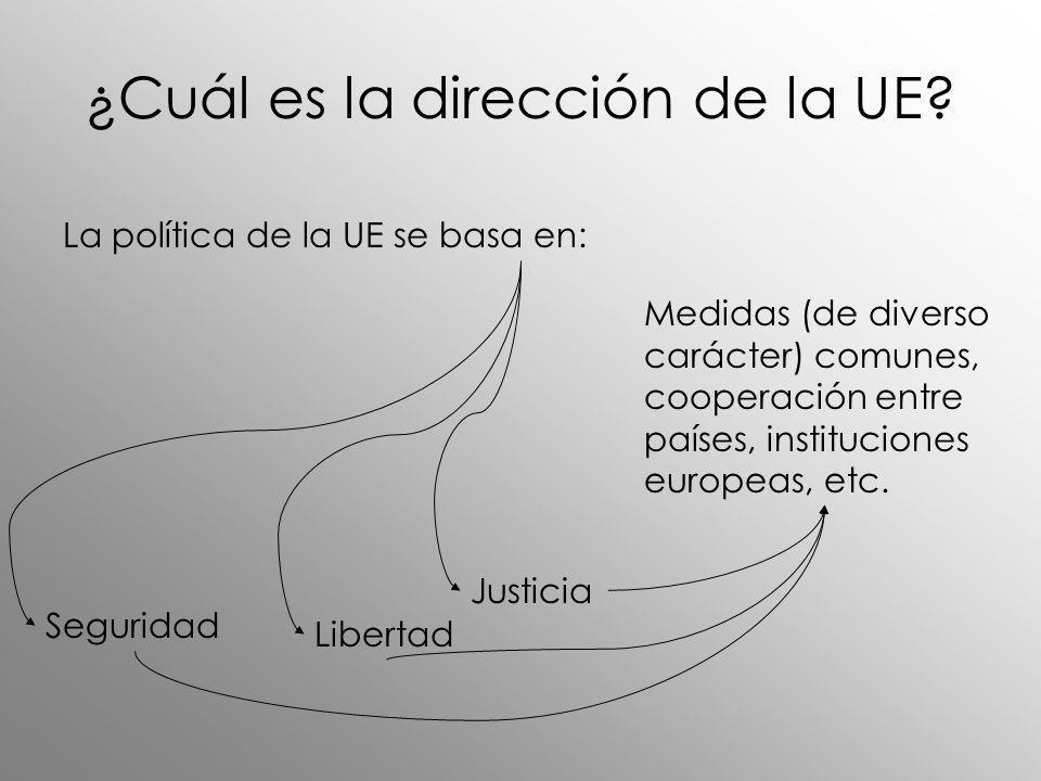 ¿Cuál es la dirección de la UE