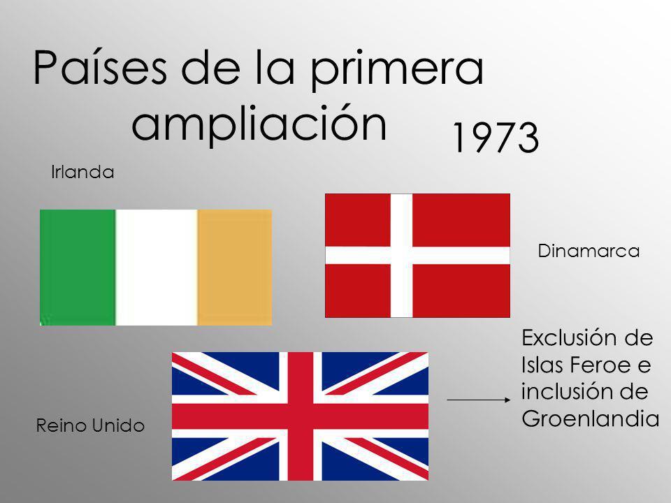 Países de la primera ampliación