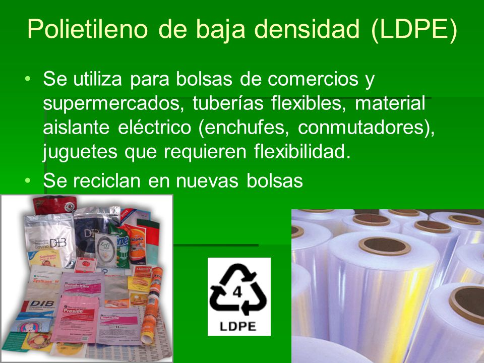 Polietileno de baja densidad (LDPE)