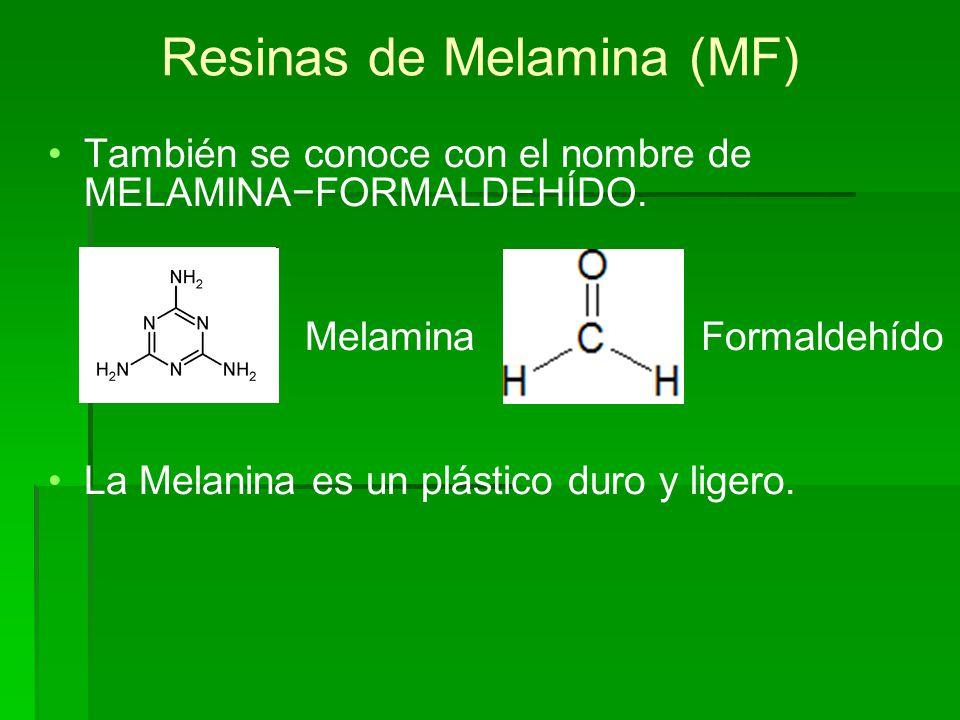 Resinas de Melamina (MF)