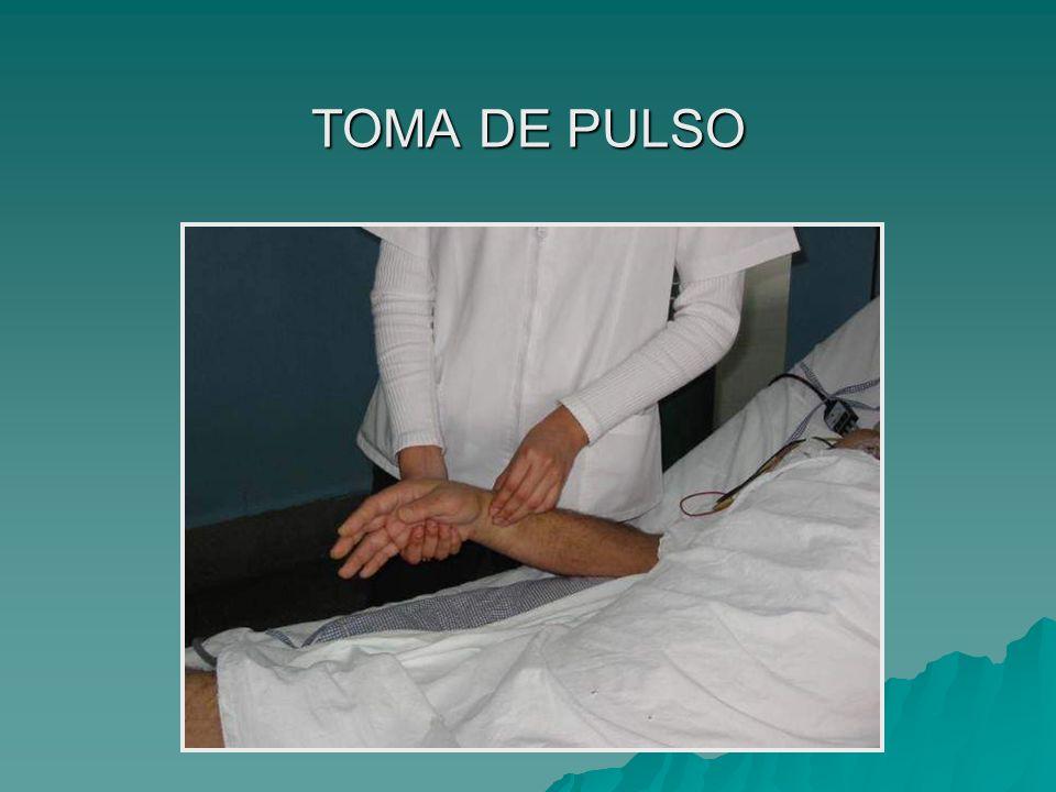 TOMA DE PULSO
