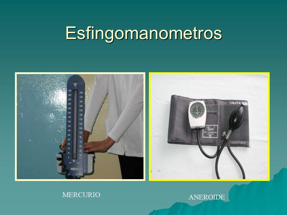 Esfingomanometros MERCURIO ANEROIDE