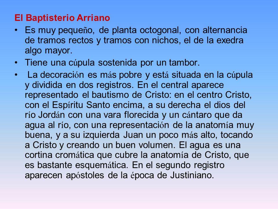 El Baptisterio Arriano