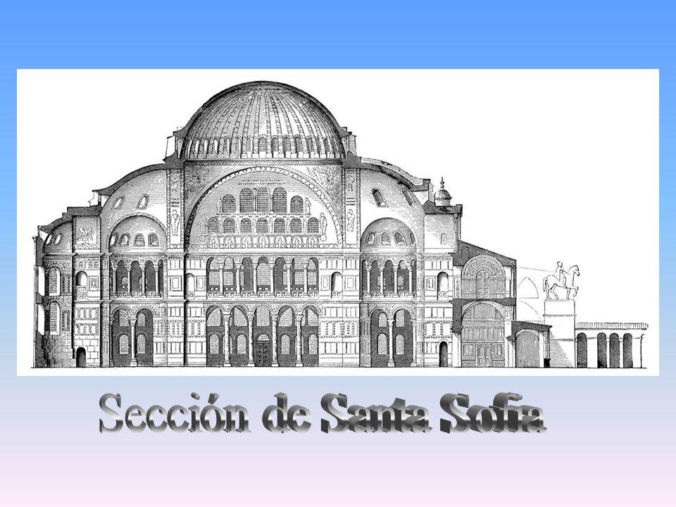 Sección de Santa Sofia