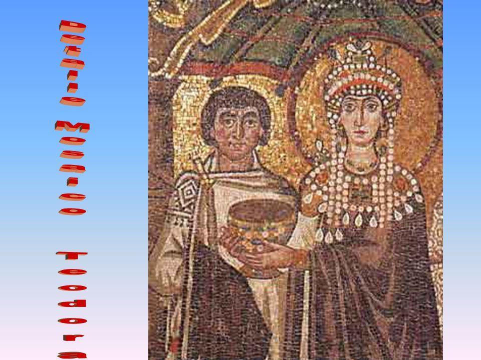 Detalle Mosaico Teodora