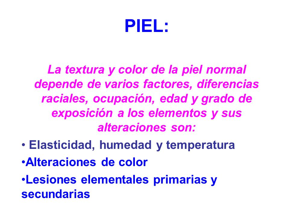 PIEL:
