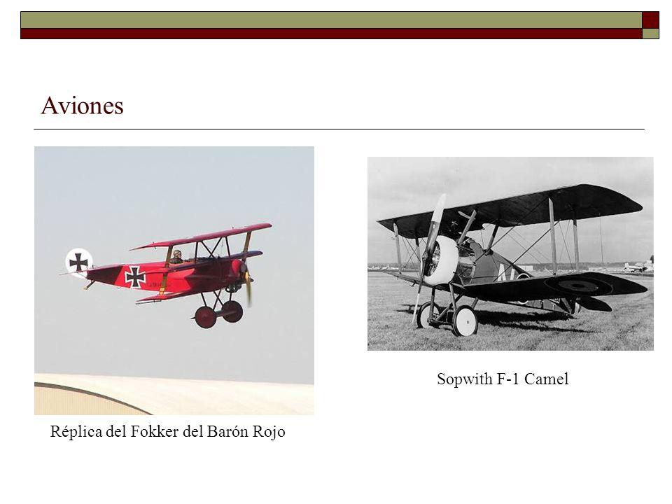 Aviones Sopwith F-1 Camel Réplica del Fokker del Barón Rojo