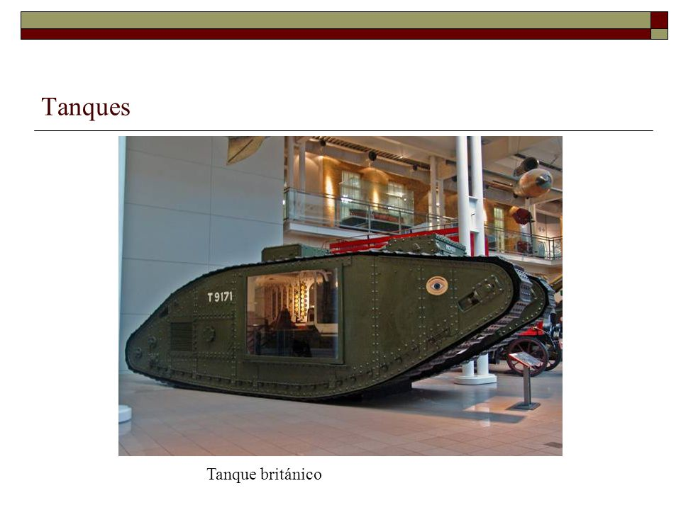 Tanques Tanque británico
