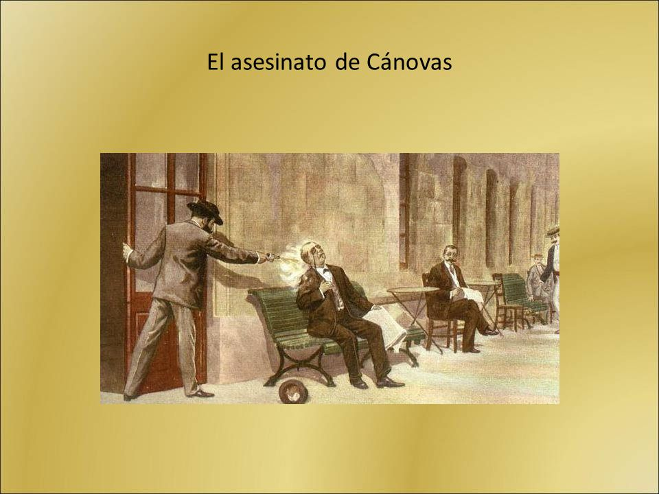El asesinato de Cánovas