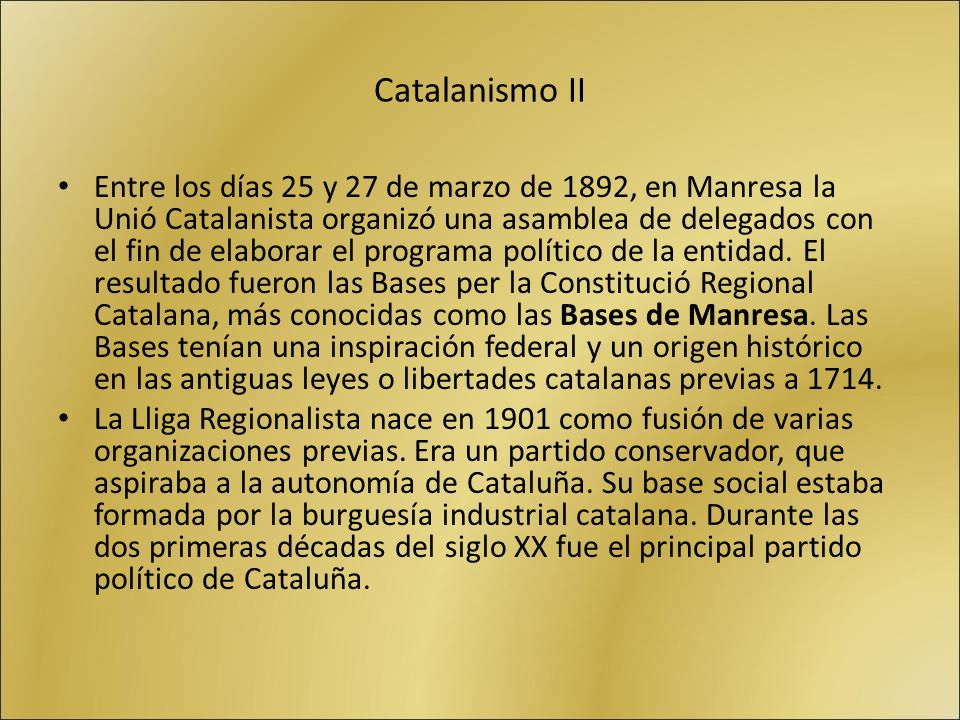 Catalanismo II