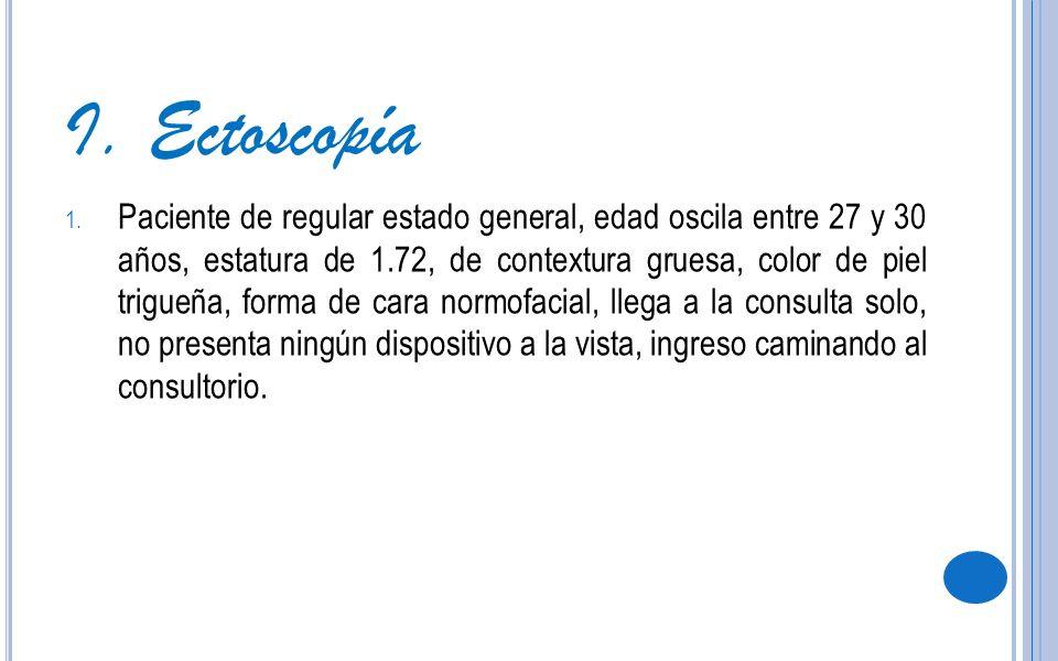 I. Ectoscopía