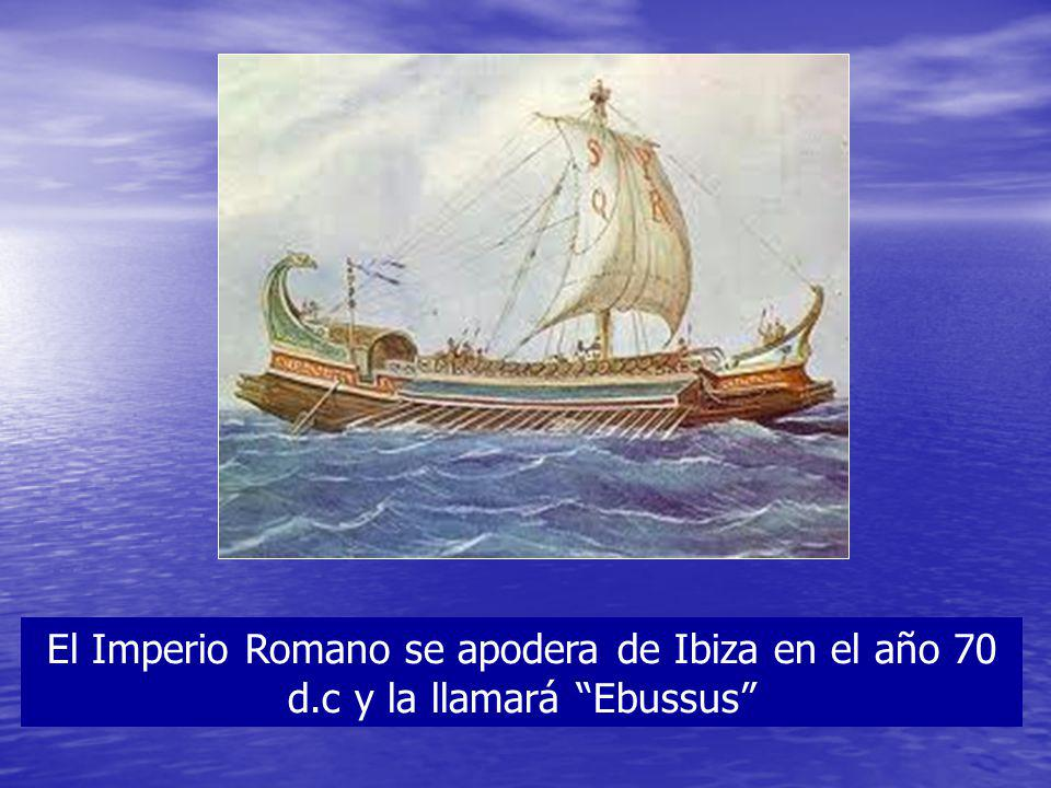 El Imperio Romano se apodera de Ibiza en el año 70 d