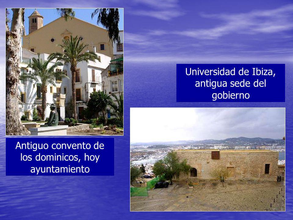 Universidad de Ibiza, antigua sede del gobierno
