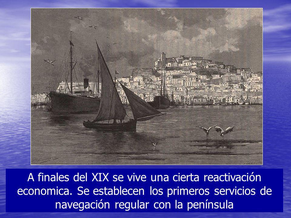 A finales del XIX se vive una cierta reactivación economica