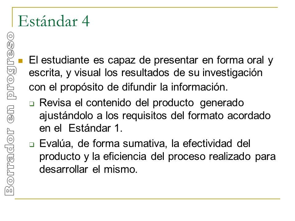 Estándar 4