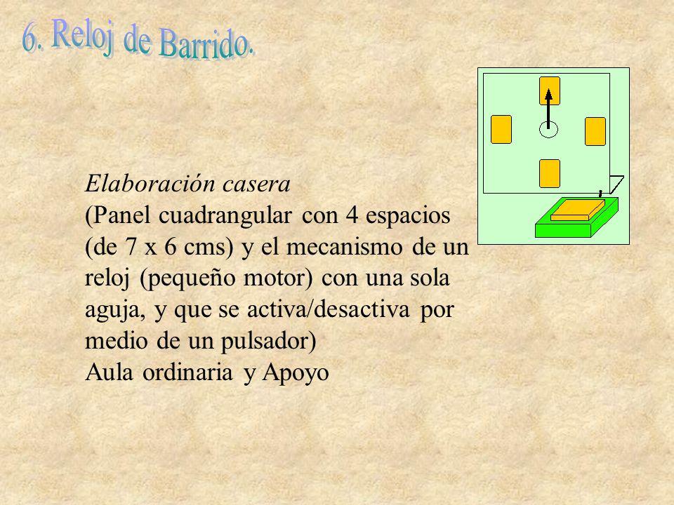 6. Reloj de Barrido. Elaboración casera