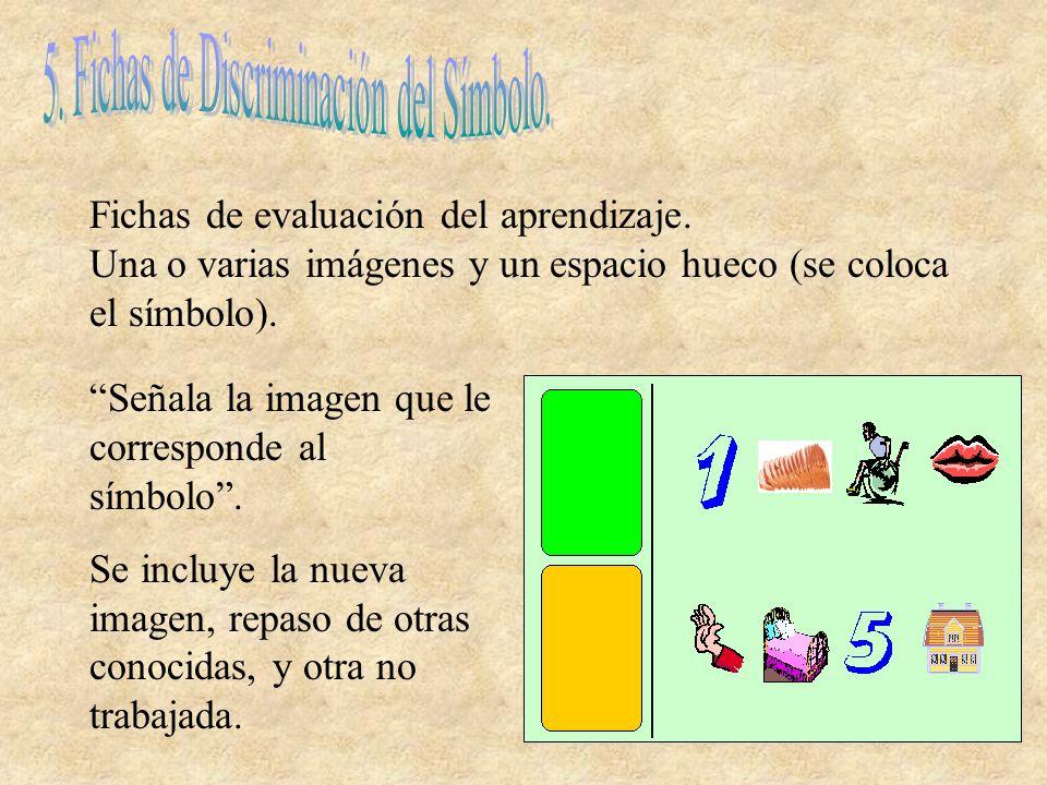 5. Fichas de Discriminación del Símbolo.