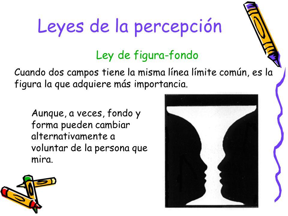 Leyes de la percepción Ley de figura-fondo