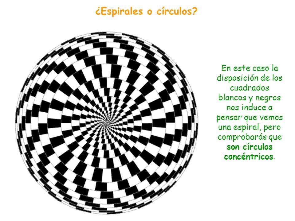 ¿Espirales o círculos