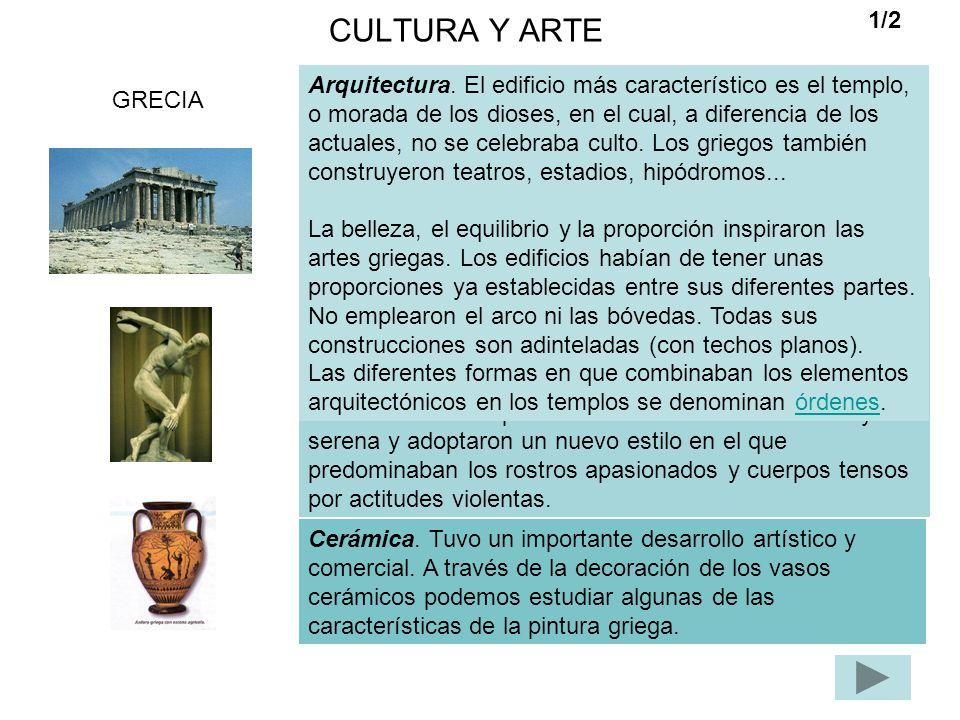 CULTURA Y ARTE 1/2.
