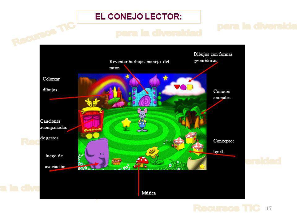 EL CONEJO LECTOR: Dibujos con formas geométricas