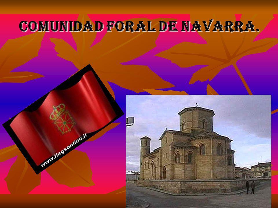 Comunidad foral de Navarra.