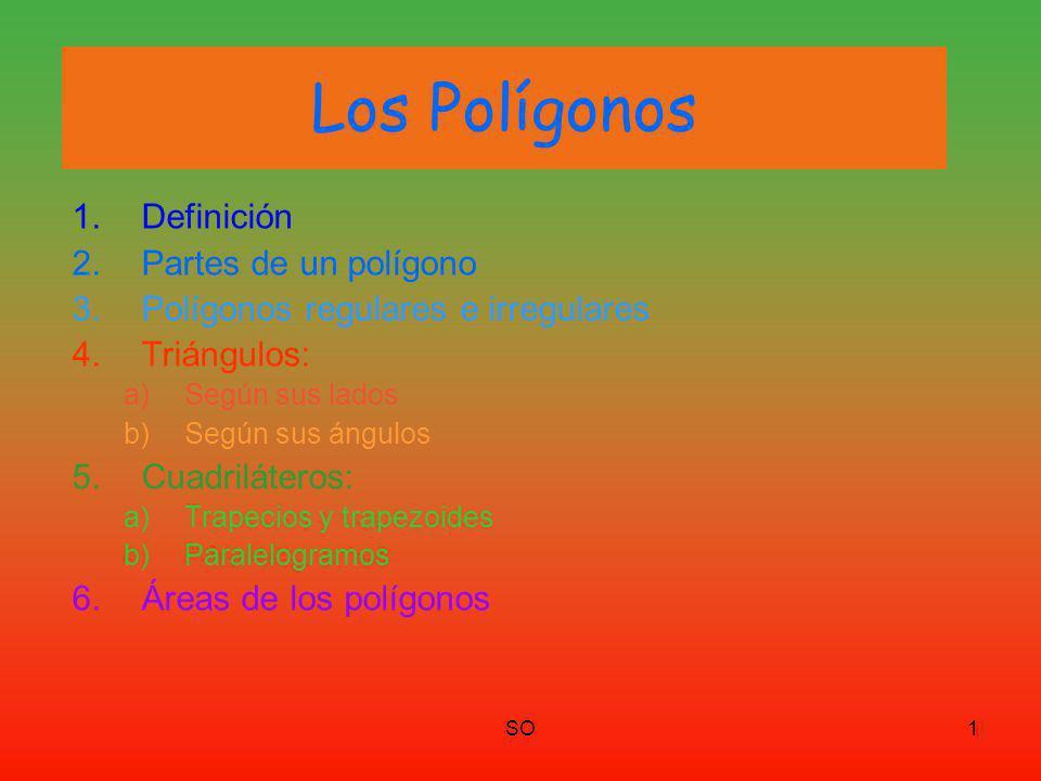 Los Polígonos Definición Partes de un polígono