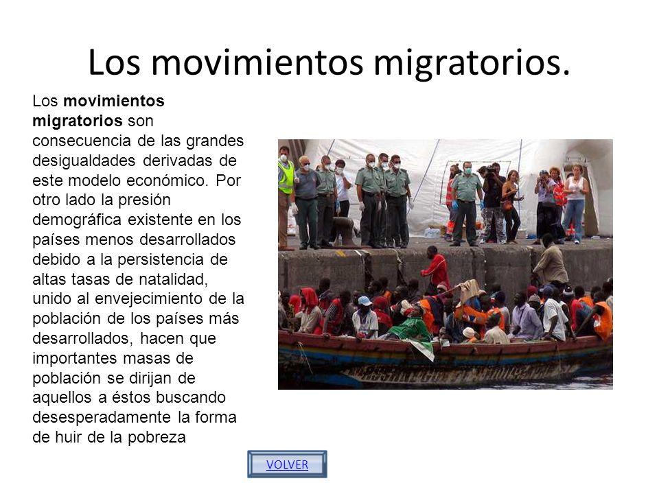 Los movimientos migratorios.