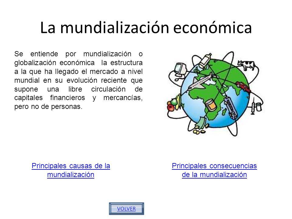 La mundialización económica