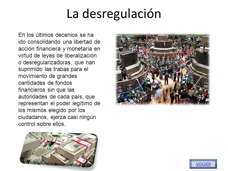 La desregulación