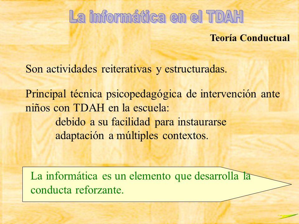 La informática en el TDAH