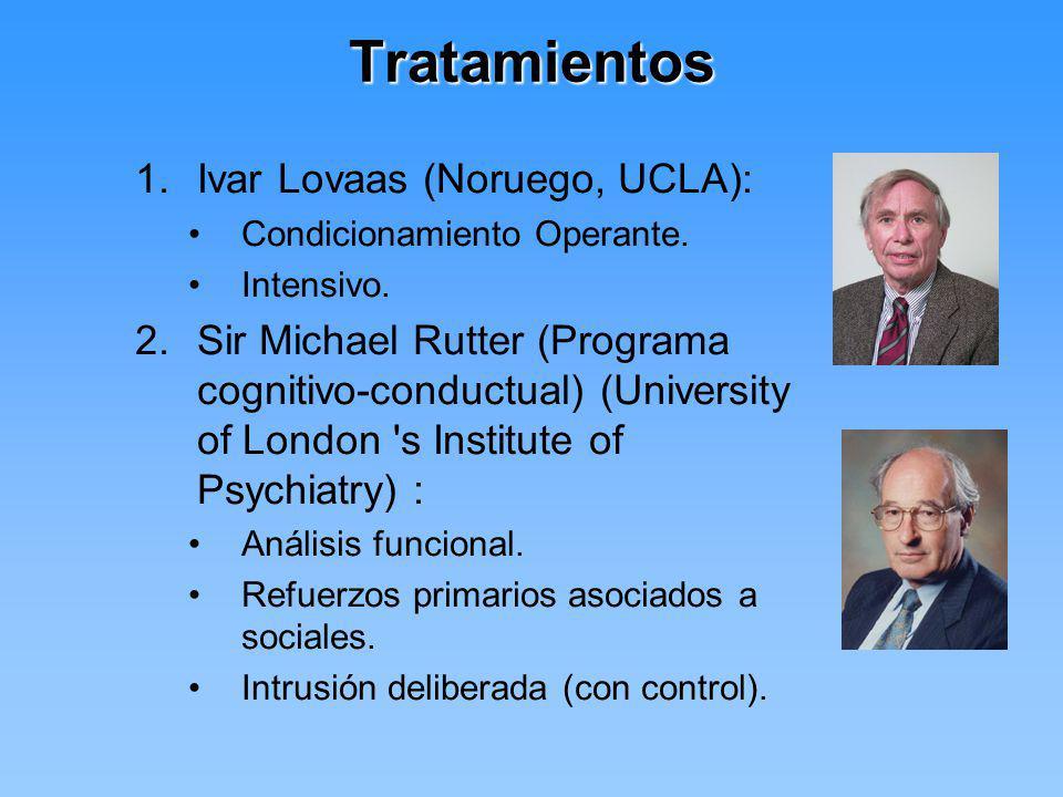 Tratamientos Ivar Lovaas (Noruego, UCLA):