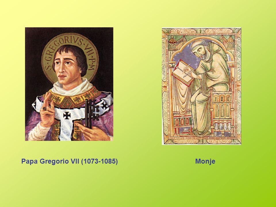 Papa Gregorio VII (1073-1085) Monje