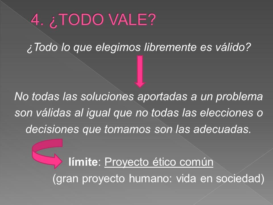 4. ¿TODO VALE