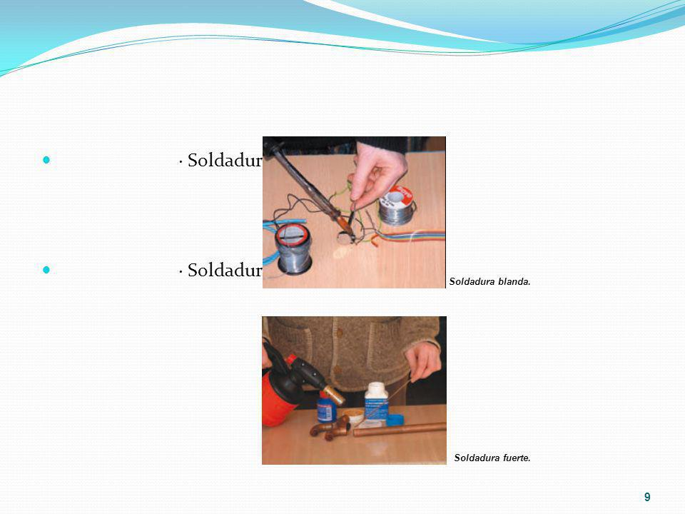 · Soldadura oxiacetilénica o autógena