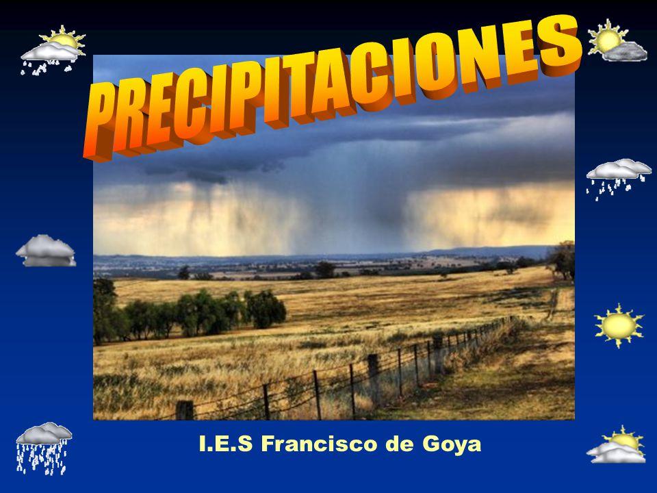 PRECIPITACIONES I.E.S Francisco de Goya