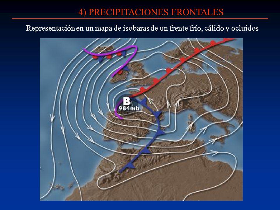 4) PRECIPITACIONES FRONTALES