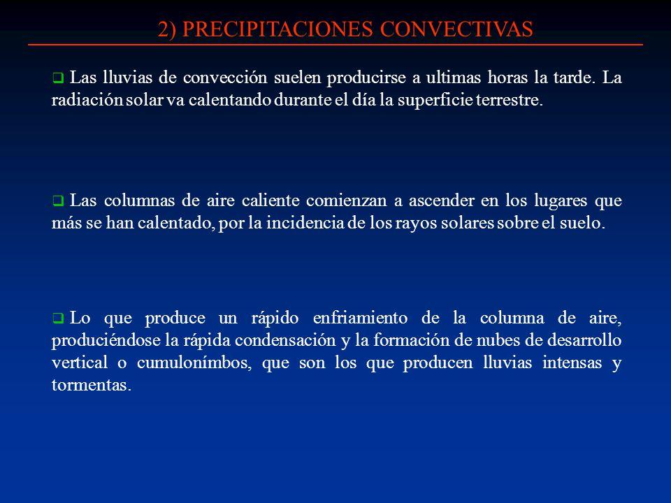 2) PRECIPITACIONES CONVECTIVAS